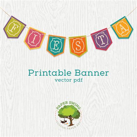 printable fiesta banner diy printable fiesta banner flags