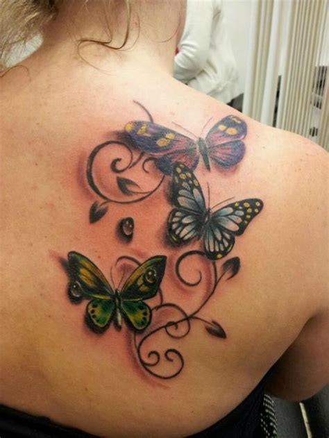 butterfly tattoo on girl s shoulder 50 gorgeous butterfly tattoos and their meanings you ll