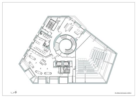 Library Floor Plan Design Gallery Of Canada Water Library 20