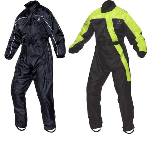motorcycle rain suit black beacon waterproof motorbike motorcycle one piece