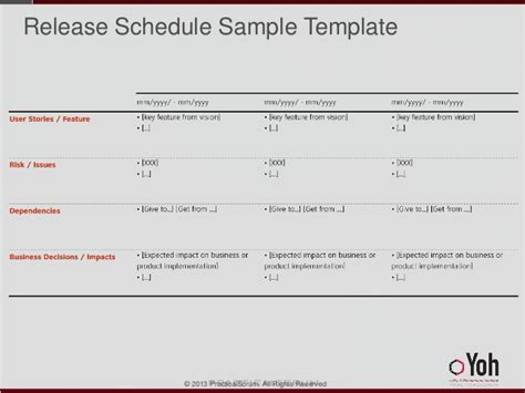 scrum schedule template 28 images beginning scrum for