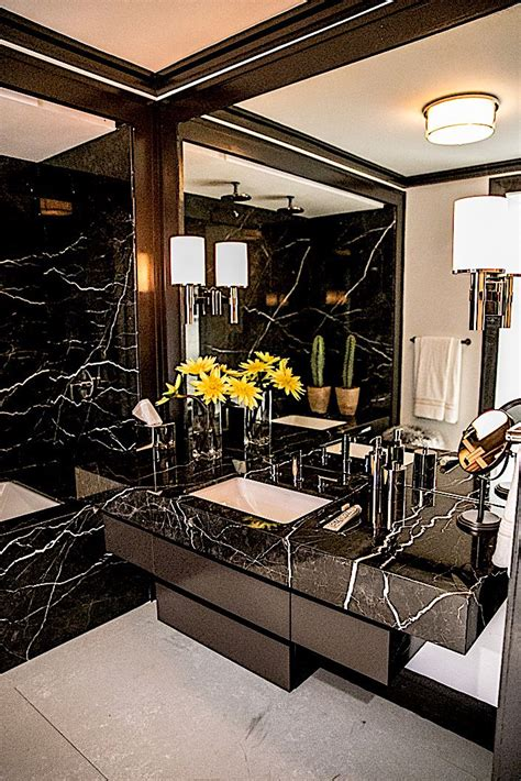 Best 25 black marble bathroom ideas on pinterest modern marble bathroom modern bathrooms and