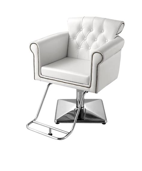 The Chair Salon by The Cornwall Styling Chair In White Standish Furniture