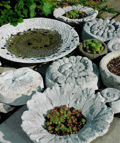 15 awesome concrete garden decor ideas to have the most