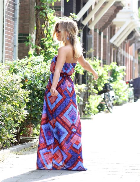 Dress Maxi Tasiena maxi dress market jurkjes kleding