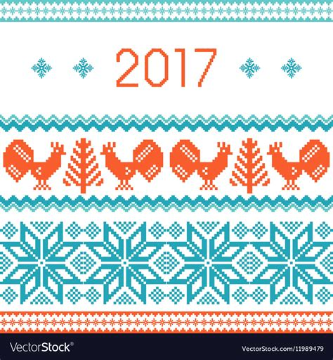 new year 2017 card template free 2017 new year greeting card template royalty free vector