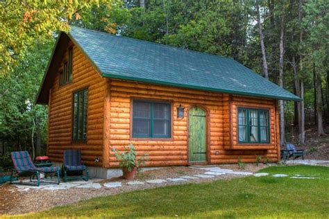 tiny house rentals wisconsin door county log cabin in ephraim 1 small vrbo