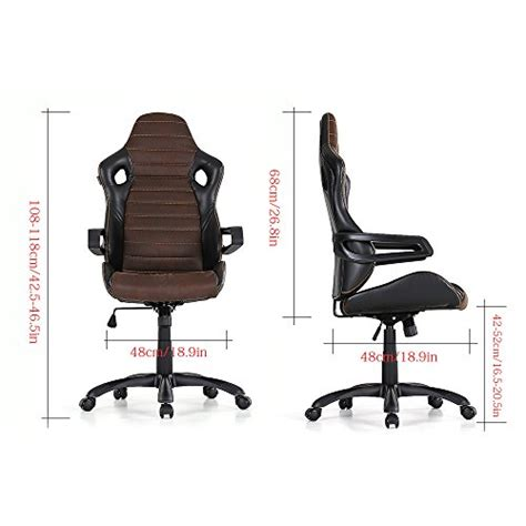 computer swivel chair ikayaa computer chair adjustable swivel office chair