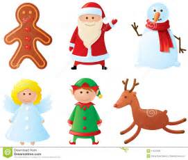 christmas characters stock vector image of gingerbread