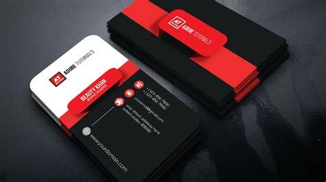 simple busiuness card template illustartor cc creative business card adobe illustrator cc tutorial