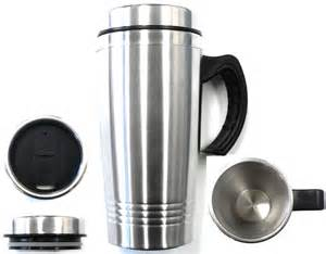 Coffee Mug Handle by New 16oz Stainless Steel Coffee Cup With Handle Insulated