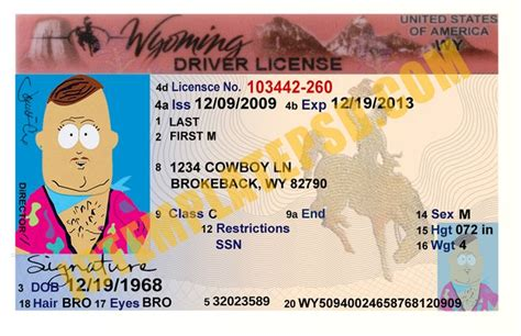 Template Id Card Photoshop Zebra Printer by 17 Best Images About Novelty Psd Usa Driver License
