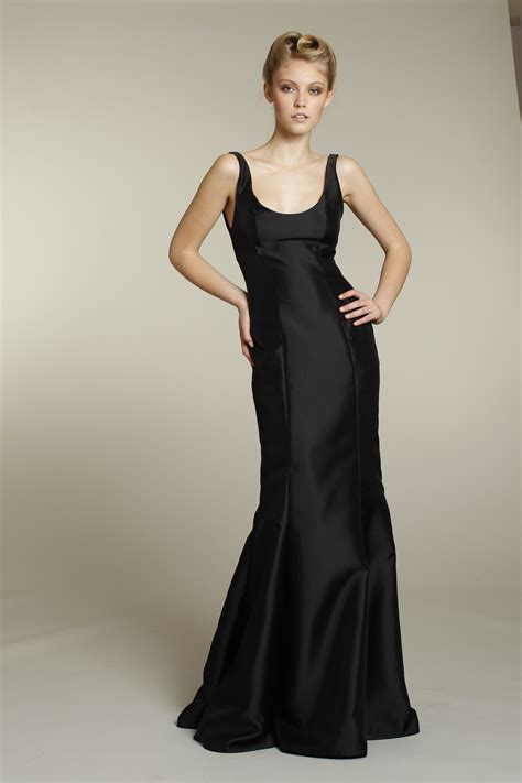 Black Bridesmaid Dresses by Sophisticated Black Bridesmaid Dress Onewed