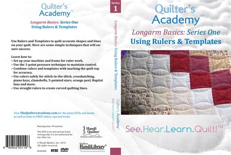 Longarm Templates And Rulers successful freehand machine quilting using your sewing