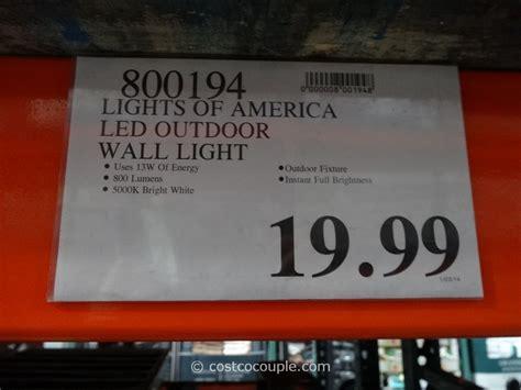 lights of america led lights of america led outdoor wall light