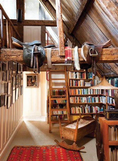 creative attic library  function room home design