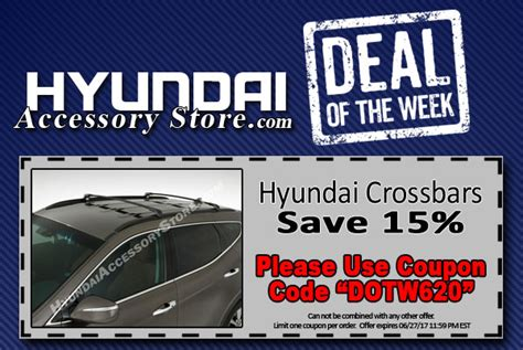 Deal Of The Week 20 At Baker by Hyundai Accessory Store A Gary Rome Hyundai Site 1 800