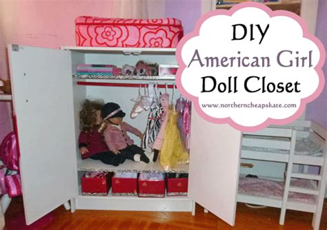 How To Make American Doll Closet by Diy American Doll Closet