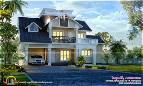 10 Green Home Design Ideas by Awesome Modern House Exterior Kerala Home Design And