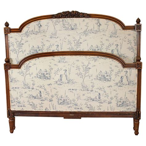 French Upholstered Headboard At 1stdibs