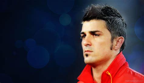 David Villa Hairstyle by David Villa
