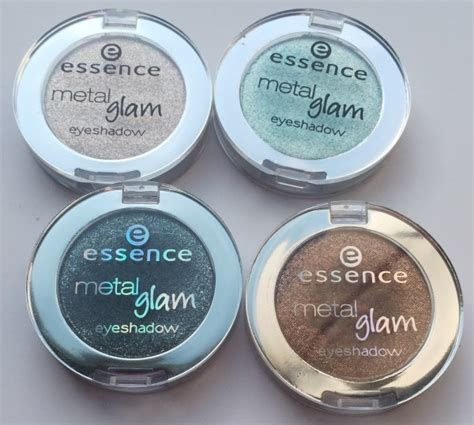 Eyeshadow Essence Review essence metal glam eyeshadow review and swatches beautiful makeup