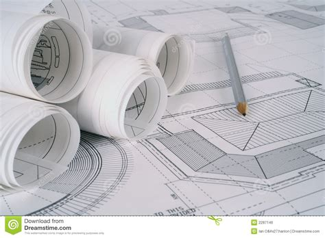 plan image architect plans royalty free stock image image 2287146