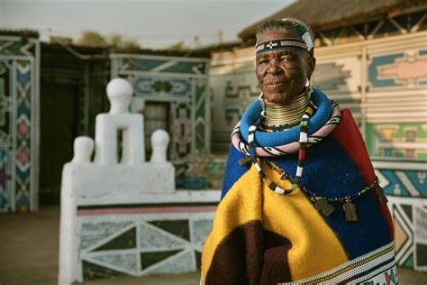 esther mahlangu is keeping africa s ndebele painting alive artsy