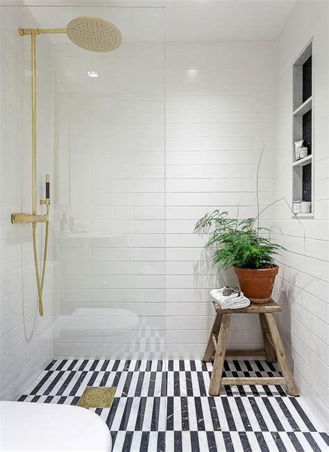 Black And White Bathroom Floor Tile by 41 Cool Bathroom Floor Tiles Ideas You Should Try Digsdigs