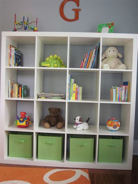hanging bookcase love my mother in law s floating graham s bright and modern nursery project nursery