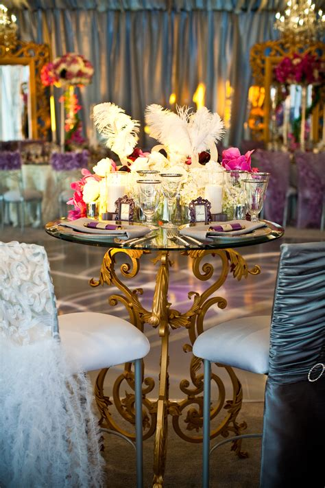 back side of sweetheart table events by design