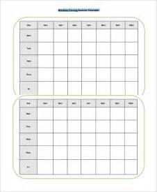 Blank Revision Timetable Template by Common Worksheets 187 Printable Revision Timetable