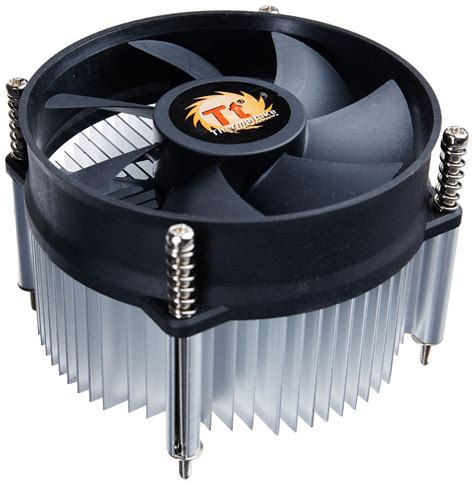 intel 775 cpu fan intel cooler heatsink w fan silent rifle bearing socket