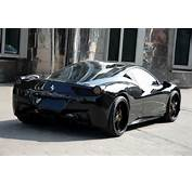 The Top Cars Ever New Look Ferrari 458 Italia Black Carbon Edition By