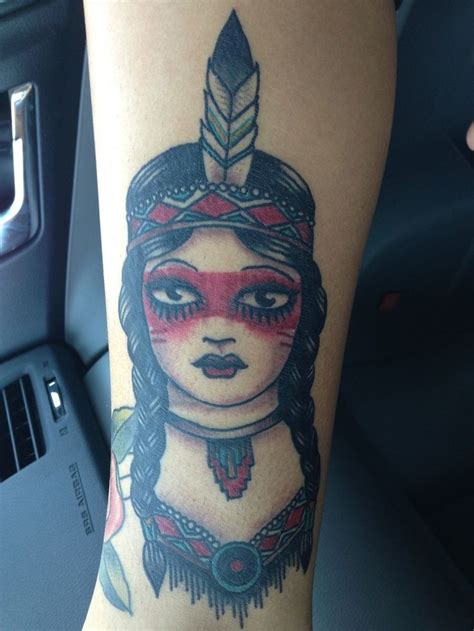 native tattoo pinterest traditional native american girl tattoo tatt pinterest