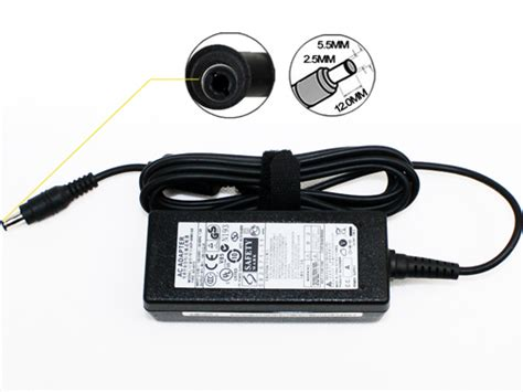 Adaptor Laptop Samsung Ori samsung genuine original laptop ac adapters 19v 2 1a 40w 5 5 x 3 0mm orientec
