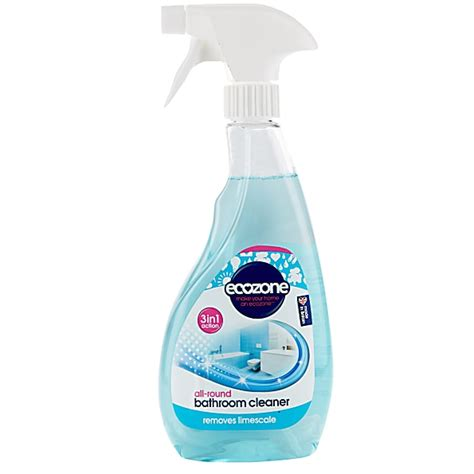 Shower Limescale Remover by Ecozone 3 In 1 Bathroom Cleaner And Limescale Remover