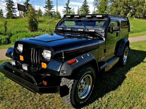 manual cars for sale 1992 jeep wrangler instrument cluster 1992 jeep wrangler yj 10 inch chop custom for sale photos technical specifications