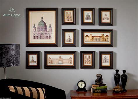 details  abm home  multi picture frame set photo