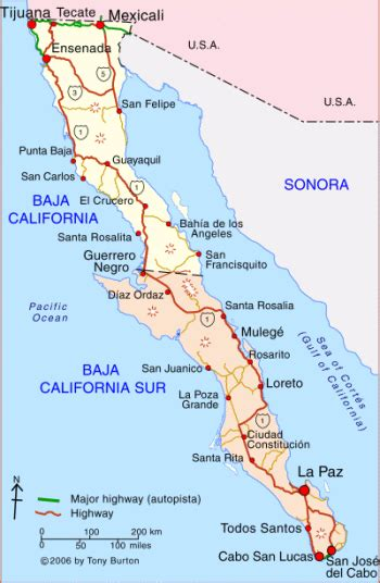 map of baja california baja california mexico field methods earth expeditions