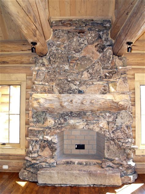 Houde Home Construction fireplace amp rockwork hackbarth construction