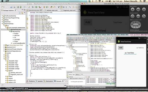 android studio receive sms tutorial eclipse and android studio dynamic text view primer