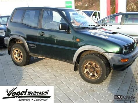 nissan terrano 1999 1999 nissan terrano ii 2 7 tdi sport car photo and specs