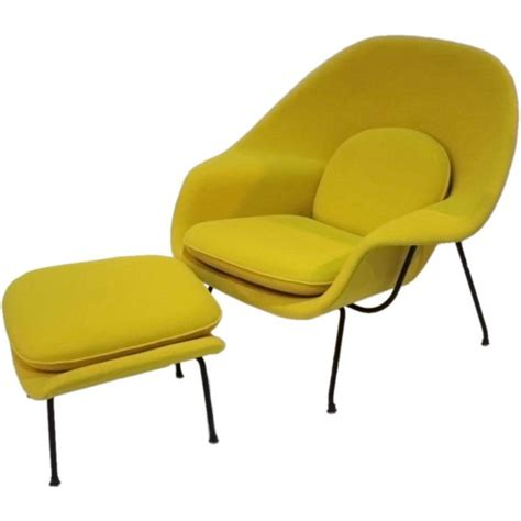 Knoll Chairs Price by Womb Chair And Ottoman By Eero Saarinen For Knoll At 1stdibs