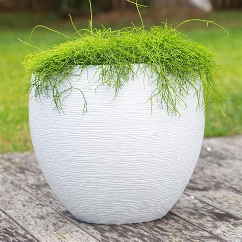vasi bianchi da esterno vasi resina esterno vasi i vasi in resina per esterno