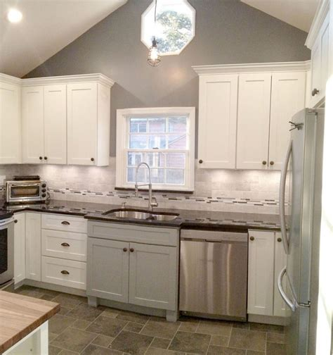 white shaker kitchen cabinets painted white shaker kitchen cabinets different thaduder