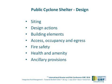 design guidelines for queensland public cyclone shelters public cyclone shelters in queensland australia peter