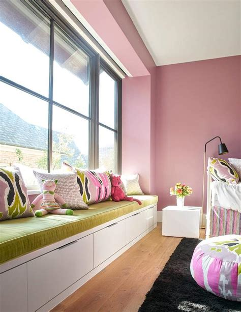 teen bedroom seating pink girl bedroom with white metal daybed contemporary