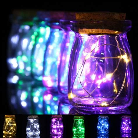 Romantic Xmas 10 Led Colours Seed Vase Lights Wedding Lights In A Vase