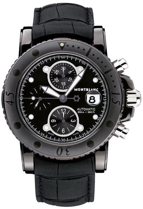 104279 new montblanc sport chronograph automatic mens
